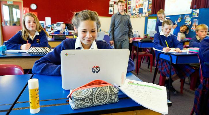 St Joseph's computer learning